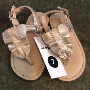 FREE WITH BUNDLE- BNWT, cat and jack sandals